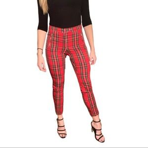 H&M Plaid Pants